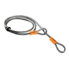 Cable de metal con doble ojala Kryptonite kryptoflex 410 4'