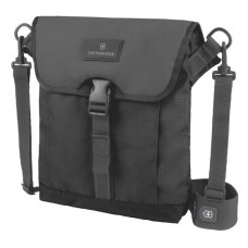 FLAPOVER DIGITAL BAG, NEGRO